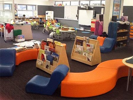 Flexible kindergarten learning space