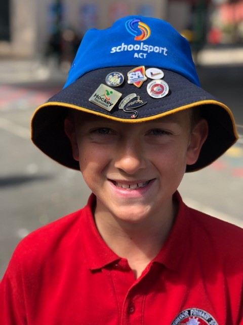 Child has been selected to attend an national sporting activity