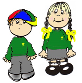 animation image of a boy and a girl