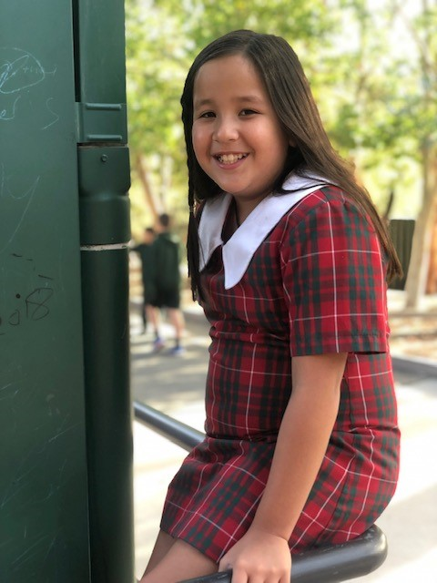 A photo of a girl in year 4