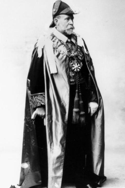 A photo of William MacGregor