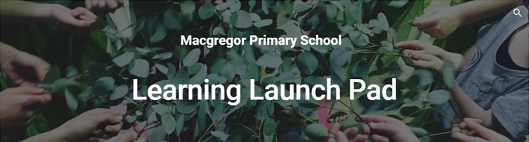 A photo of the school's learning launch pad